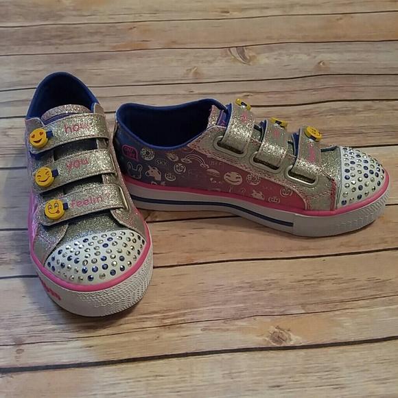 Nwot Skechers Twinkle Toes Pop Princess